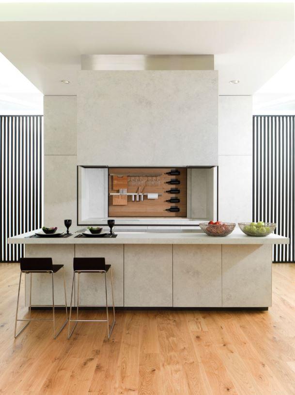 rangement cuisine pour salon