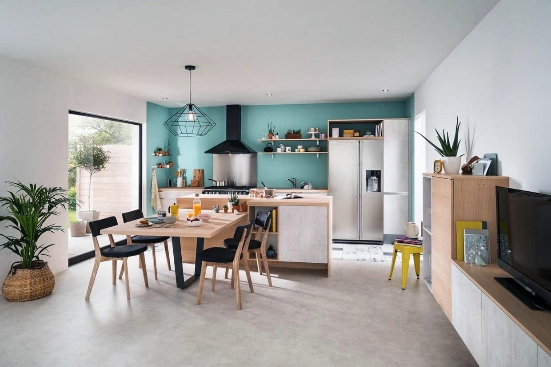 separation cuisine salon 40 idees