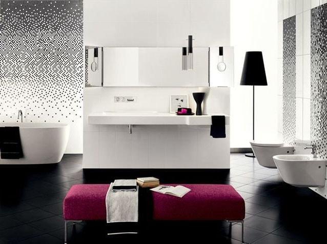 salle de bain couleur tendance