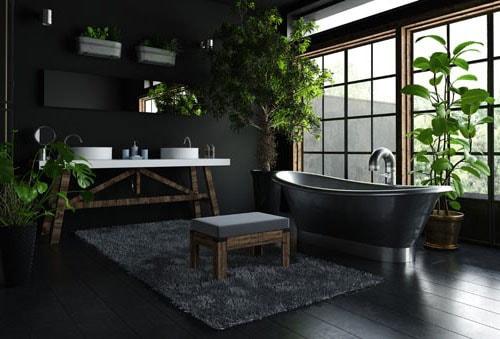 Peinture salle de bain : 40 idées de couleurs pour une déco tendance