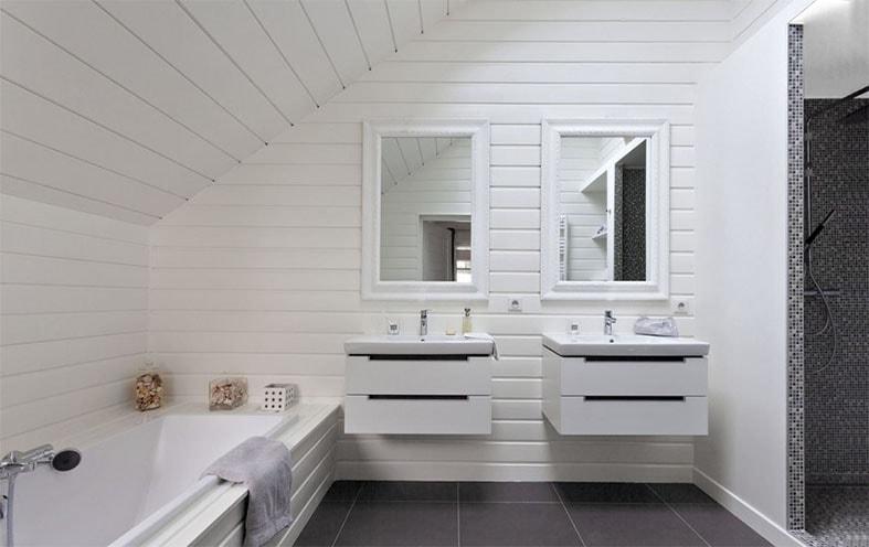 salle de bain soupente