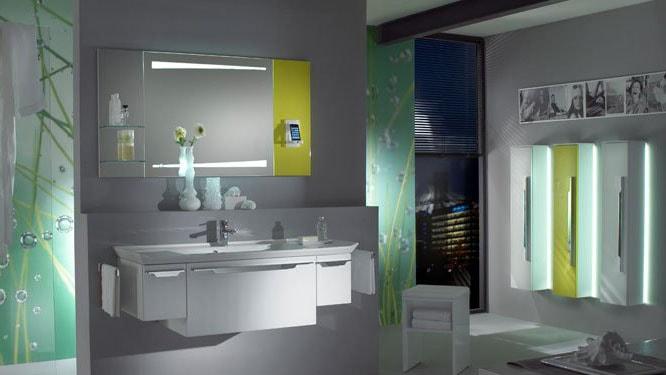 sdb modern design futuriste