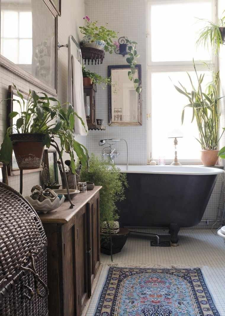 salle de bain rustique et pas ordinaire