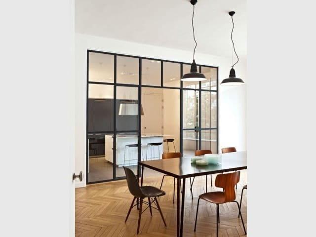 Separation Cuisine Salon 40 Idees Pour Cloisonner Et