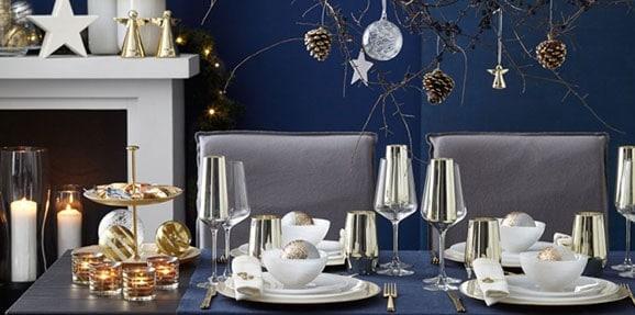 table noel elegante