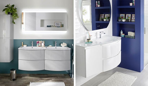 teintes peinture salle de bain