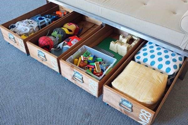 Boites vintages et coffres à jouets