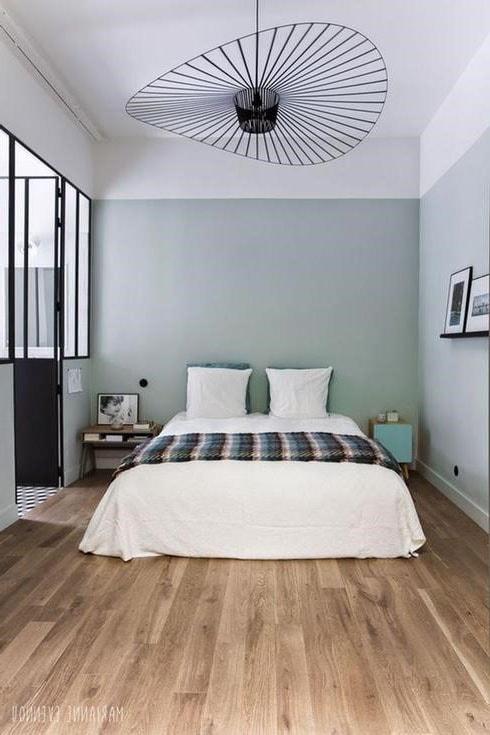 Chambre couleur gris