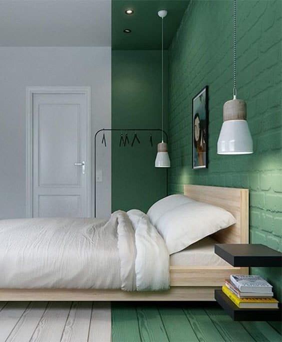 Chambre Vert Menthe