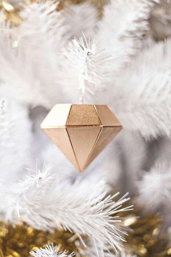Diamant de noël bois