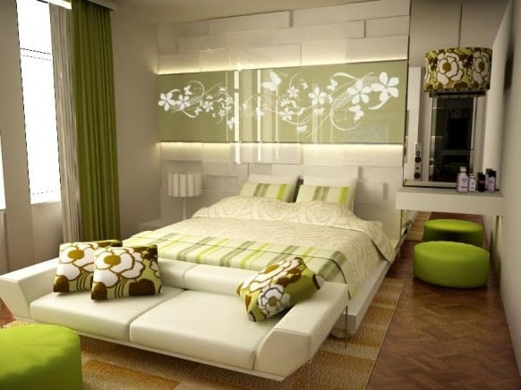 Esprit nature chambre verte