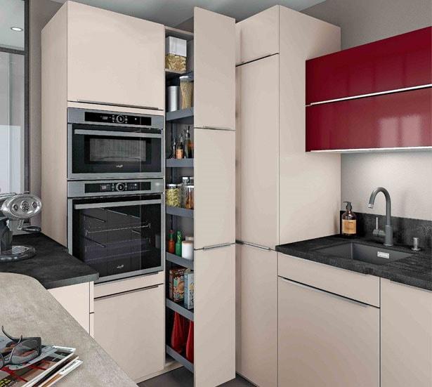 Grande armoire rangement cuisine