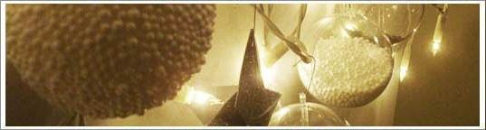 Guirlande boules de Noël à fabriquer