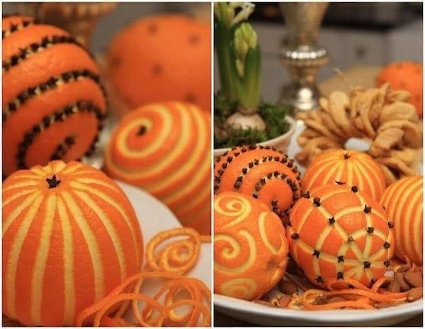Oranges décoration