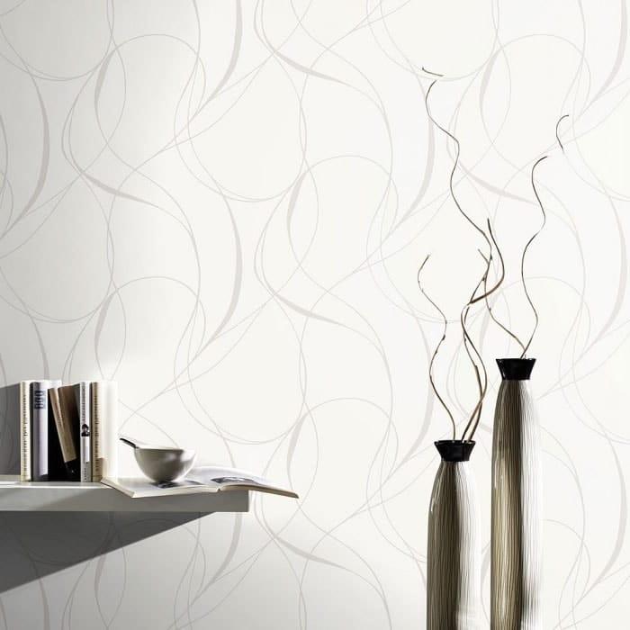 Papier peint arabesque chic moderne