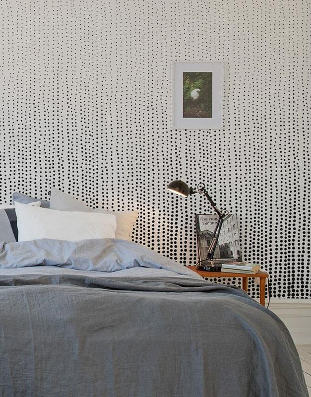 D coration photos conseils de papier peint pour chambre d 39 adulte for Au fil des couleur