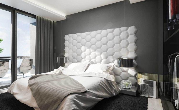 Décoration : Photos & conseils de papier peint pour chambre d\'adulte