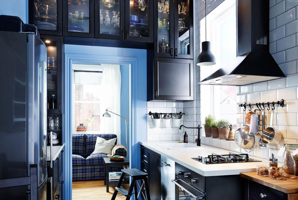Petite cuisine ouverte : 38 idées d\'aménagement modernes et pratiques