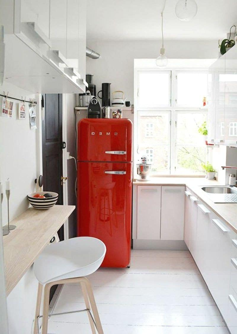 Petite cuisine ouverte  12 idées d'aménagement modernes et pratiques