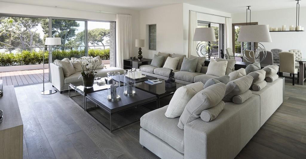 d co salon gris nos id es de d coration tendance pour. Black Bedroom Furniture Sets. Home Design Ideas