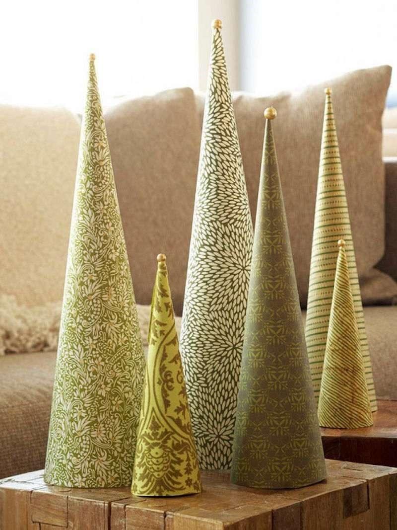 Sapins décoratifs de table