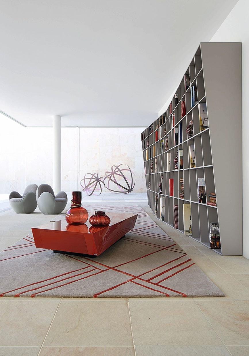 bibliothèque oversize idée rangement pour salon