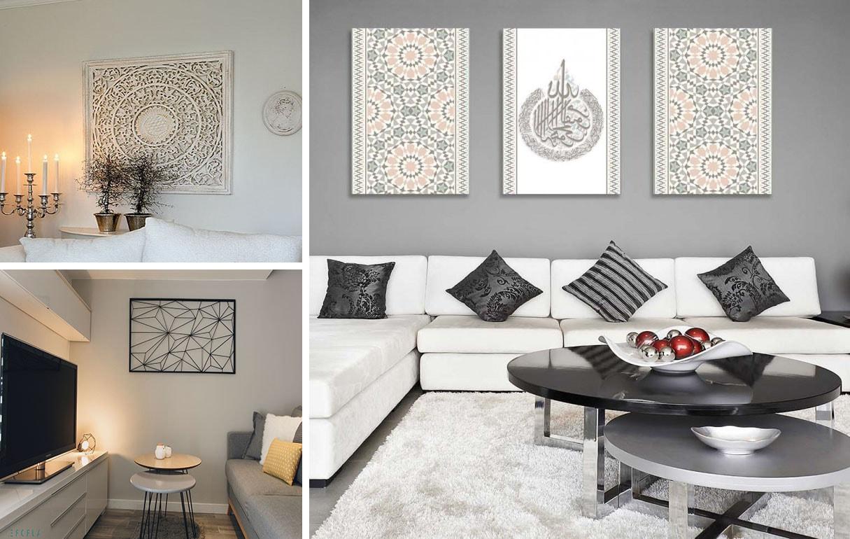 Décoration murale design : 17 idées originales pour son salon