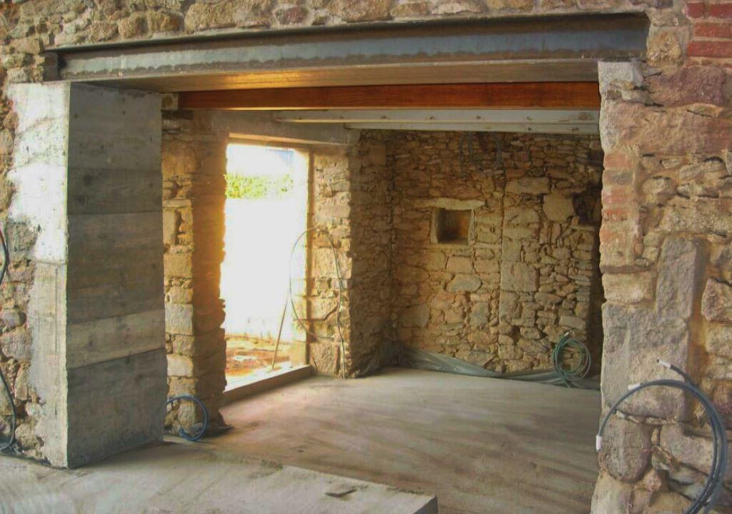 linteau pour remplacer mur porteur