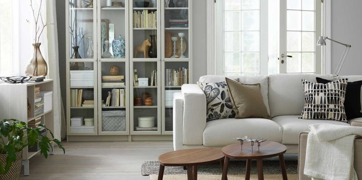 vitrine meuble pour salon