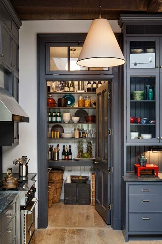 Kitchen Without Pantry Ideas