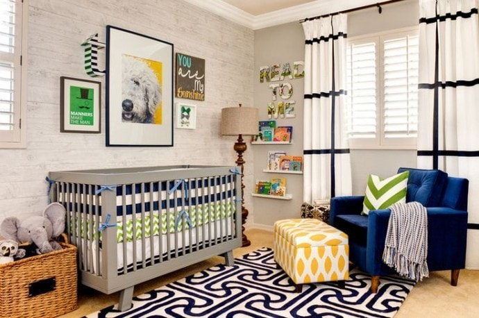 Cadres muraux chambre bébé
