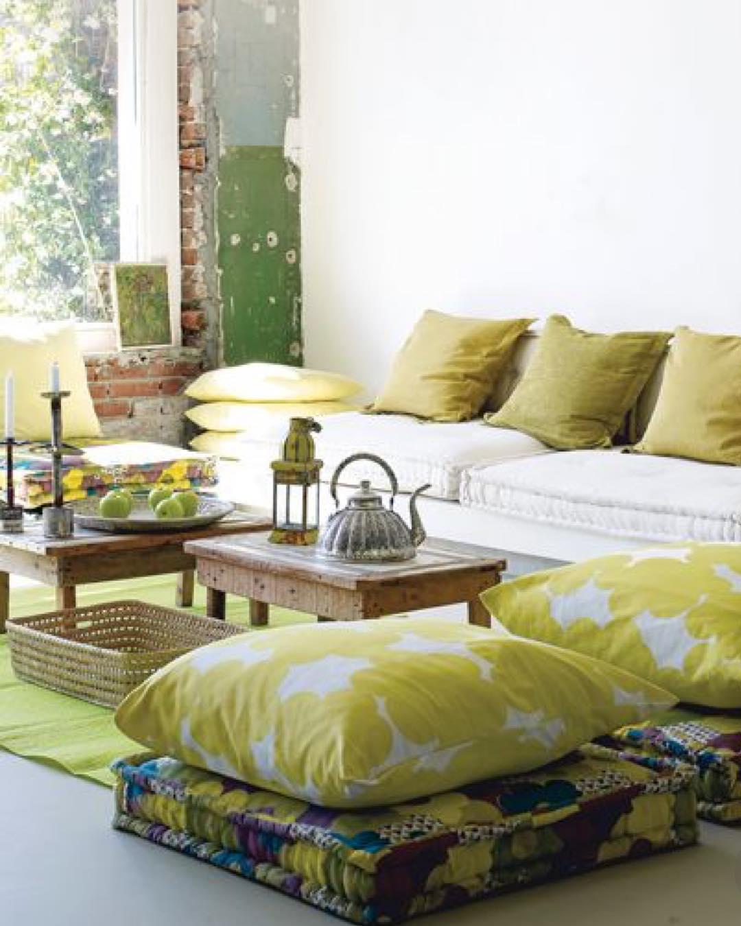 Canapé marocain végétal