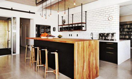 Cuisine ouverte avec bar : conseils, idées et photos