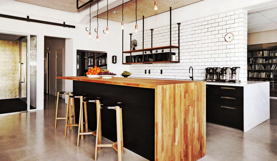 cuisine ouverte avec bar nos plus belles inspirations en. Black Bedroom Furniture Sets. Home Design Ideas