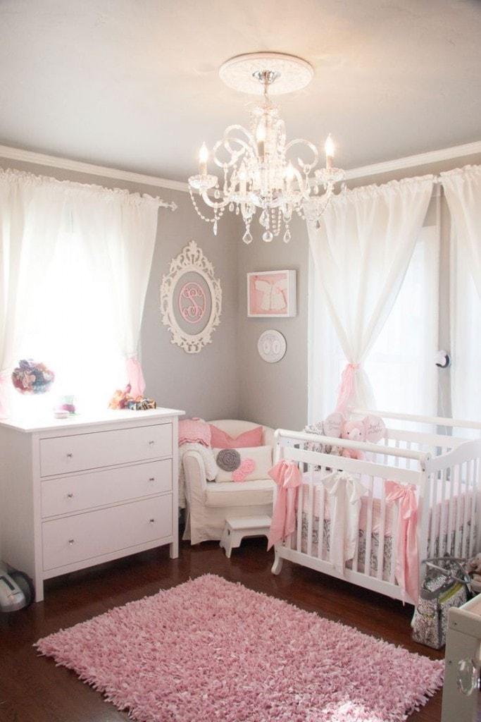 Décoration murale bébé princesse