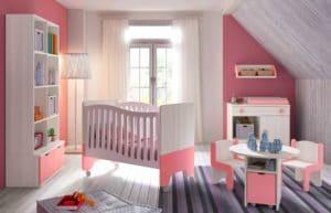 Deco chambre bébé fille