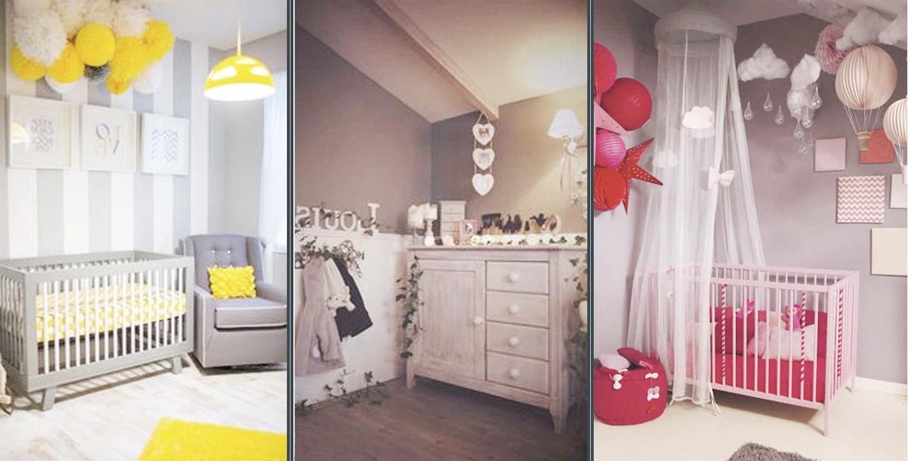 3 idées Déco chambre bébé fille