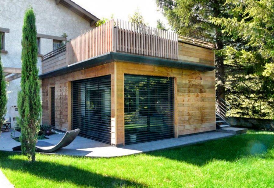 Extension De Maison En Ossature Bois