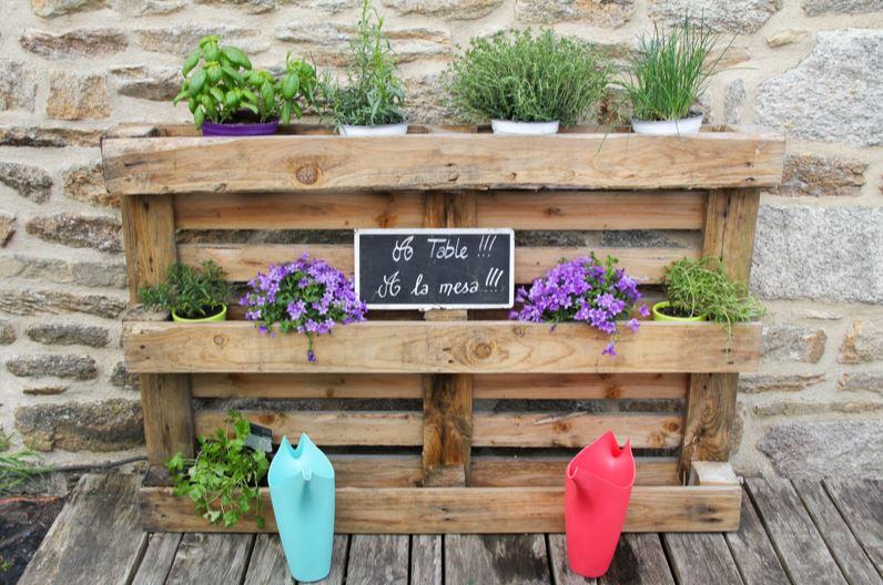 Fabriquer un salon de jardin en palette 30 photos et - Decoration de jardin a fabriquer ...