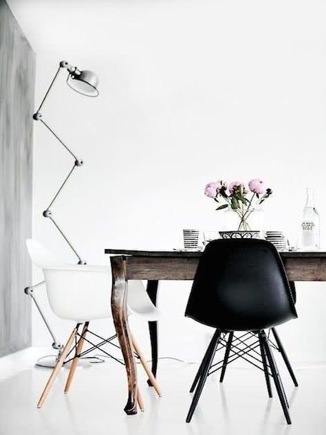 Luminaire salon scandinave