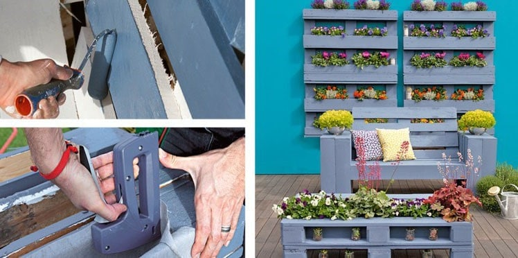 Fabriquer un salon de jardin en palette : 30 Photos et idées ...