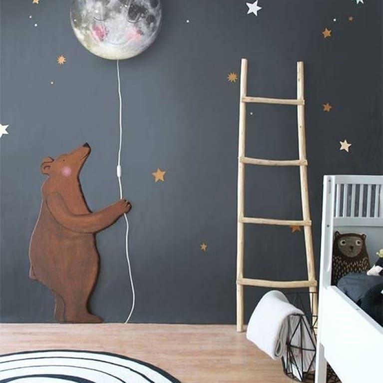 Ourson déco mural © Pinterest