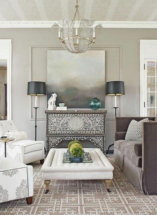 Salon gris oriental