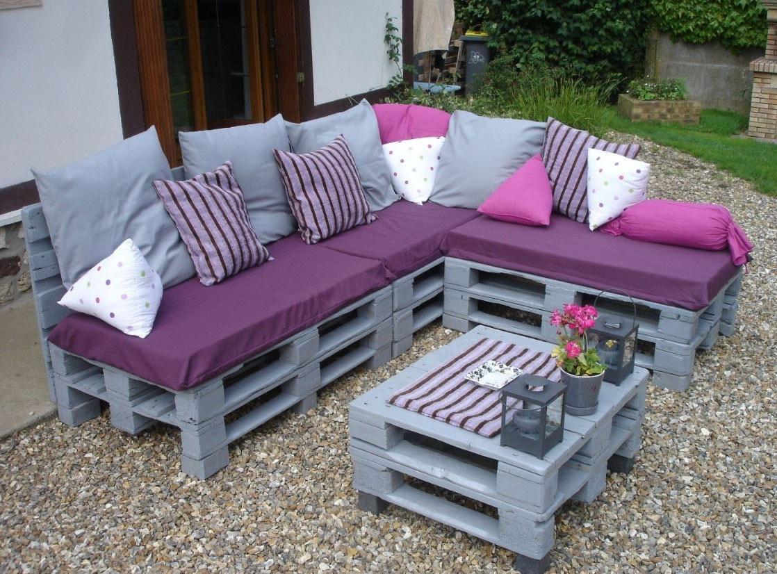 Awesome Salon De Jardin Palette Couleur Images - House Design ...