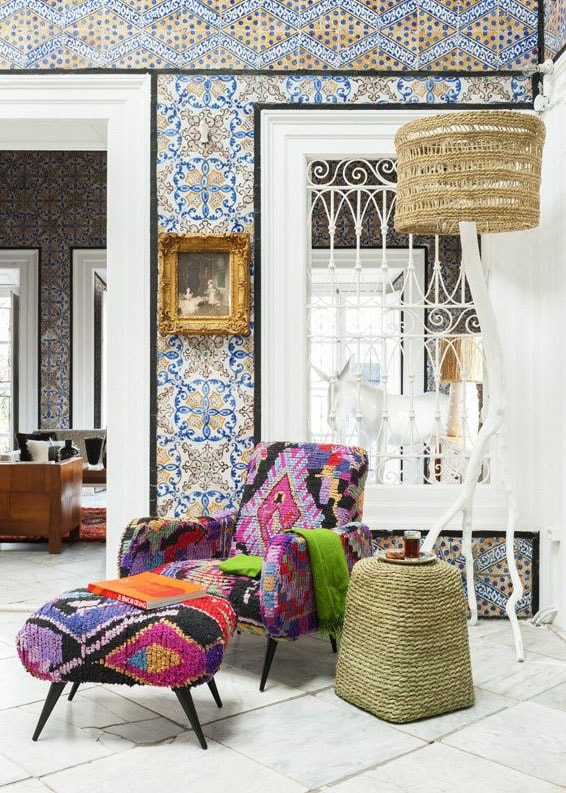 Salon marocain et ethnique