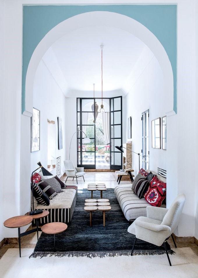Salon marocain moderne : 33 idées décos de salon orientaux ...