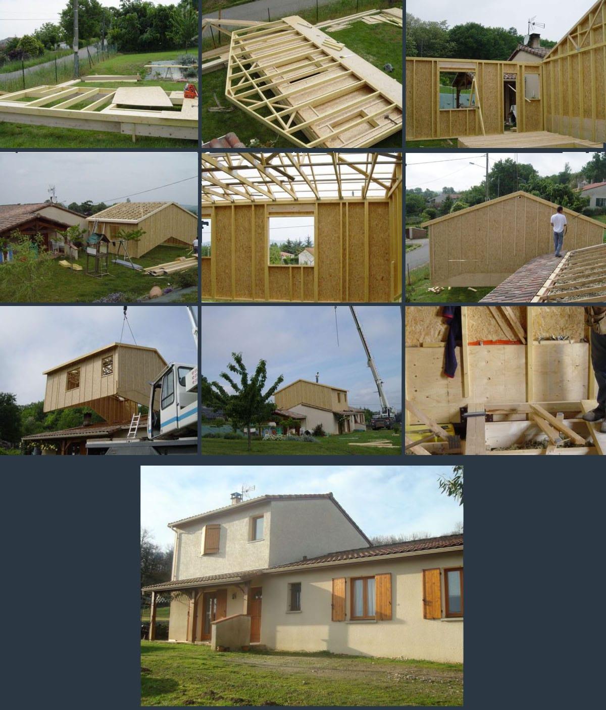 les 10 étapes de surelevation d'une maison