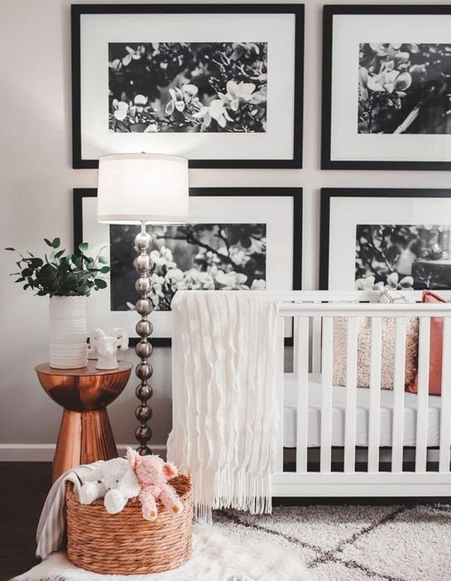 déco moderne chic chambre bébé