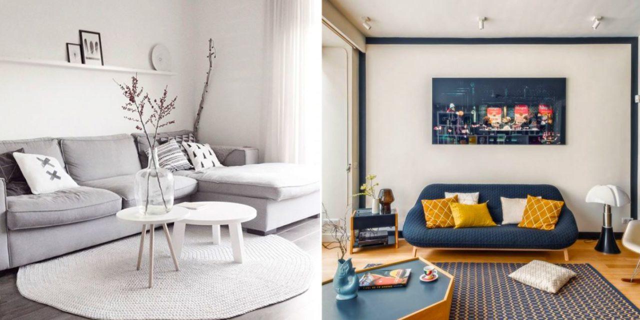 d co petit salon 26 id es de d coration pour un petit. Black Bedroom Furniture Sets. Home Design Ideas