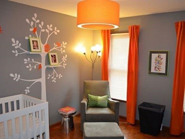 idée déco chambre bébé couleur grise